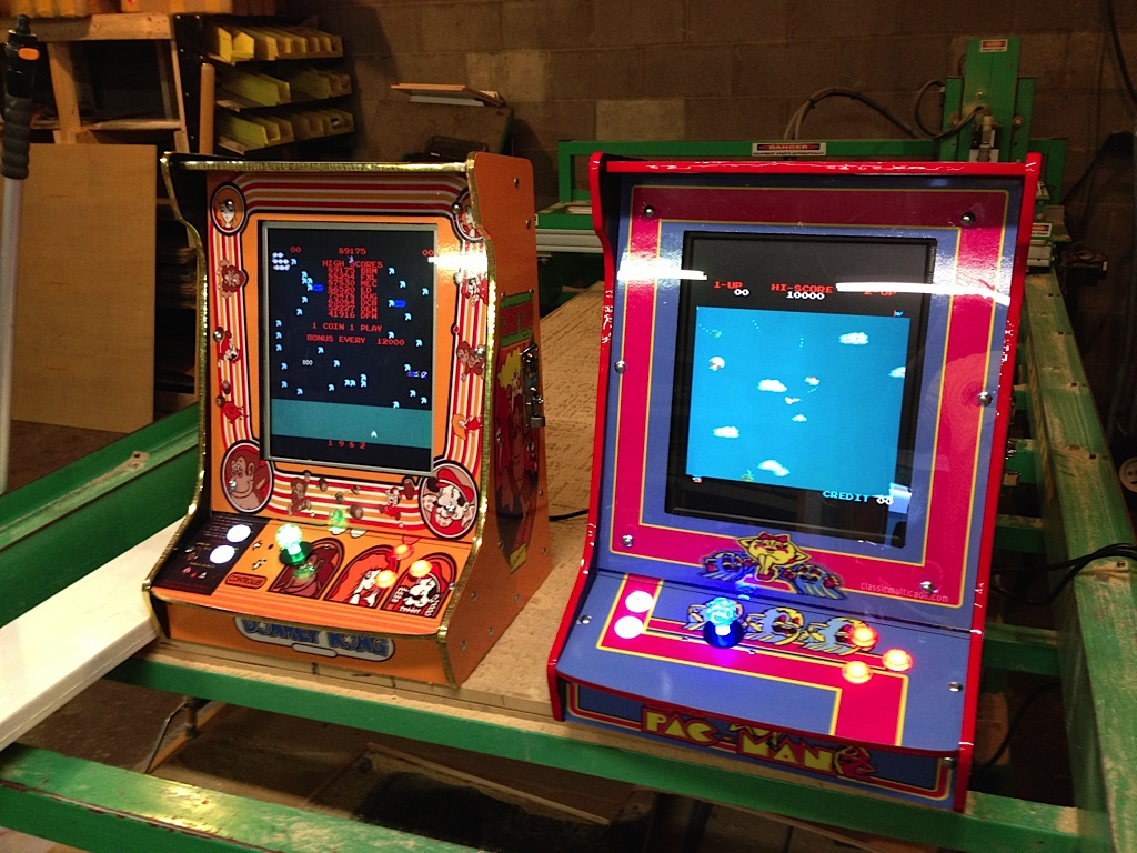 Tabletop classic arcade game - Vertical 60 in 1